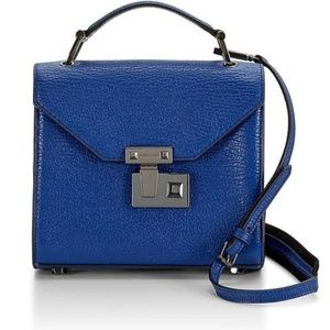 Rebecca Minkoff Mini Paris Crossbody Blue
